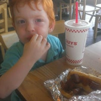Photo taken at Five Guys Burgers And Fries by Dwayne D. on 7/21/2013