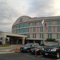 Photo taken at Hilton Austin Airport by Ryan G. on 3/7/2013