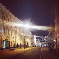 Photo taken at Улица Большая Дмитровка by Olga S. on 10/20/2013