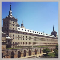Photo taken at Monasterio de San Lorenzo de El Escorial by Paco Z. on 5/11/2013