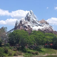 Photo taken at Expedition Everest by Juliana C. on 5/17/2013