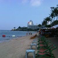 Photo taken at Pattaya Beach by John R. on 10/11/2012