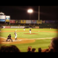 Photo taken at Clipper Magazine Stadium by Diggs on 9/15/2012