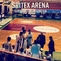 Photo taken at Sritex Arena by DEDI S. on 3/17/2013