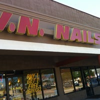 Photo taken at V N Nails by Marie F. on 2/11/2014