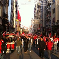 Photo taken at Taksim by Vandal D. on 10/29/2013