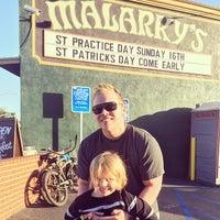 Photo taken at Malarky's Irish Pub by Dan M. on 3/17/2014