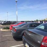 Photo taken at Parking Lot @ Coca-Cola Park by TJ D. on 5/11/2014