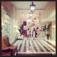 Photo taken at Astor Crowne Plaza – New Orleans French Quarter by Edward M. on 8/6/2013