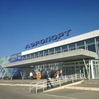 Photo taken at Bolshoye Savino International Airport (PEE) by Роман М. on 5/29/2013