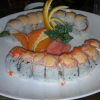 Photo taken at Sushi Thai by Leigh A. on 6/13/2013