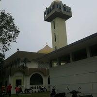 Photo taken at Masjid Al-Ridhuan by Mohd Fadzli H. on 2/15/2013