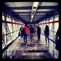 Photo taken at Metro Viaducto (Línea 2) by Raul M. on 3/27/2013