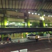 Photo taken at Stasiun Gambir by Finanditha C. on 7/8/2013