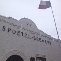 Photo taken at Spoetzl Brewery by Baldo D. on 4/25/2013