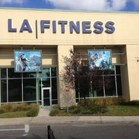 Photo taken at LA Fitness by Jethro A. on 10/18/2012