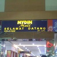 Photo taken at Mydin Mall by Nasir Z. on 1/6/2013