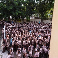 Photo taken at SMK Negeri 2 Surakarta by Yusup N. on 11/10/2012