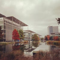 Photo taken at Chiswick Business Park by Shotaro Y. on 11/15/2016