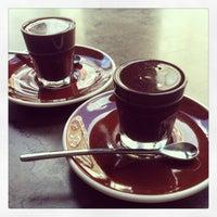 Photo taken at SOMA chocolatemaker by Marta K. on 3/29/2013