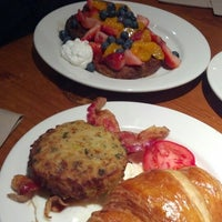 Photo taken at la Madeleine Country French Café by Laurie S. on 3/8/2014