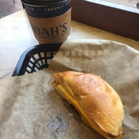 Photo taken at Noah's Bagels by Ahmed A. on 10/15/2016
