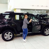 Photo taken at Renault Showroom by Dee D. on 11/5/2013