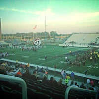 Photo taken at Tiger Field by Jason N. on 10/24/2014
