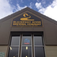 Photo taken at Blackfoot River Brewing Company by Fileme U. on 10/15/2012
