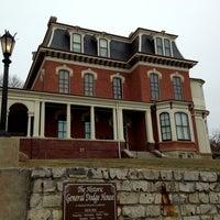 Photo taken at General Dodge House by Erik R. on 3/24/2013