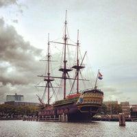Photo taken at Het Scheepvaartmuseum by PDX P. on 9/17/2013