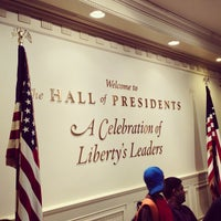 Photo taken at The Hall Of Presidents by Danny L. on 12/25/2012