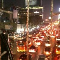 Photo taken at Sukhumvit Road by Josh ข. on 12/1/2012