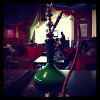 Photo taken at Anatolia Cafe & Hookah Lounge by Nicholas M. on 12/10/2012