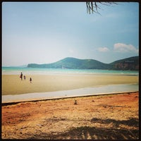 Photo taken at Teay Ngam Beach by P . on 3/13/2013
