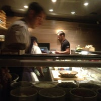 Photo taken at UNI Sashimi Bar by Jacques A. on 10/13/2012