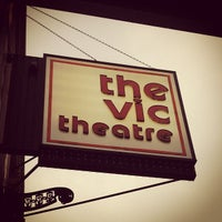 Photo taken at The Vic Theatre by Patrick M. on 4/23/2013