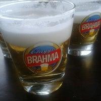 Photo taken at Quiosque da Brahma by Ana Paula T. on 12/19/2012