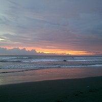 Photo taken at Pantai Barat Pangandaran by Ginayar H. on 5/19/2013