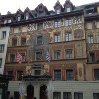 Photo taken at Hotel Des Balances by David H. on 1/5/2013