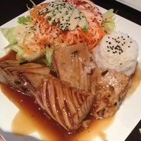 Photo taken at Kashi Sushi & Bar by Maria on 5/10/2013