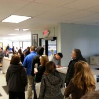 Photo taken at Registry of Motor Vehicles by James B. on 2/24/2014