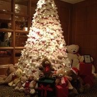 Photo taken at Four Seasons Hotel Boston by Kate D. on 11/30/2012