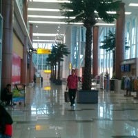 Photo taken at Sultan Syarif Kasim II International Airport (PKU) by Kick A. on 9/17/2012