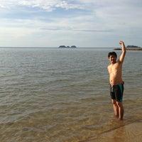 Photo taken at Bailan Beach by 🌸Hippo-po C. on 11/29/2013
