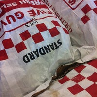 Photo taken at Five Guys by Blake L. on 10/16/2012