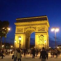Photo taken at Arc de Triomphe by Fernando S. on 6/6/2013