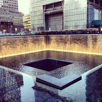 Photo taken at National September 11 Memorial & Museum by Edwin A. on 4/9/2013