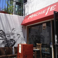 Photo taken at Machete Tequila + Tacos by Ali R. on 5/17/2013