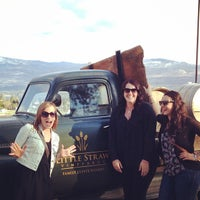 Photo taken at Little Straw Vineyards by Candace M. on 4/13/2014